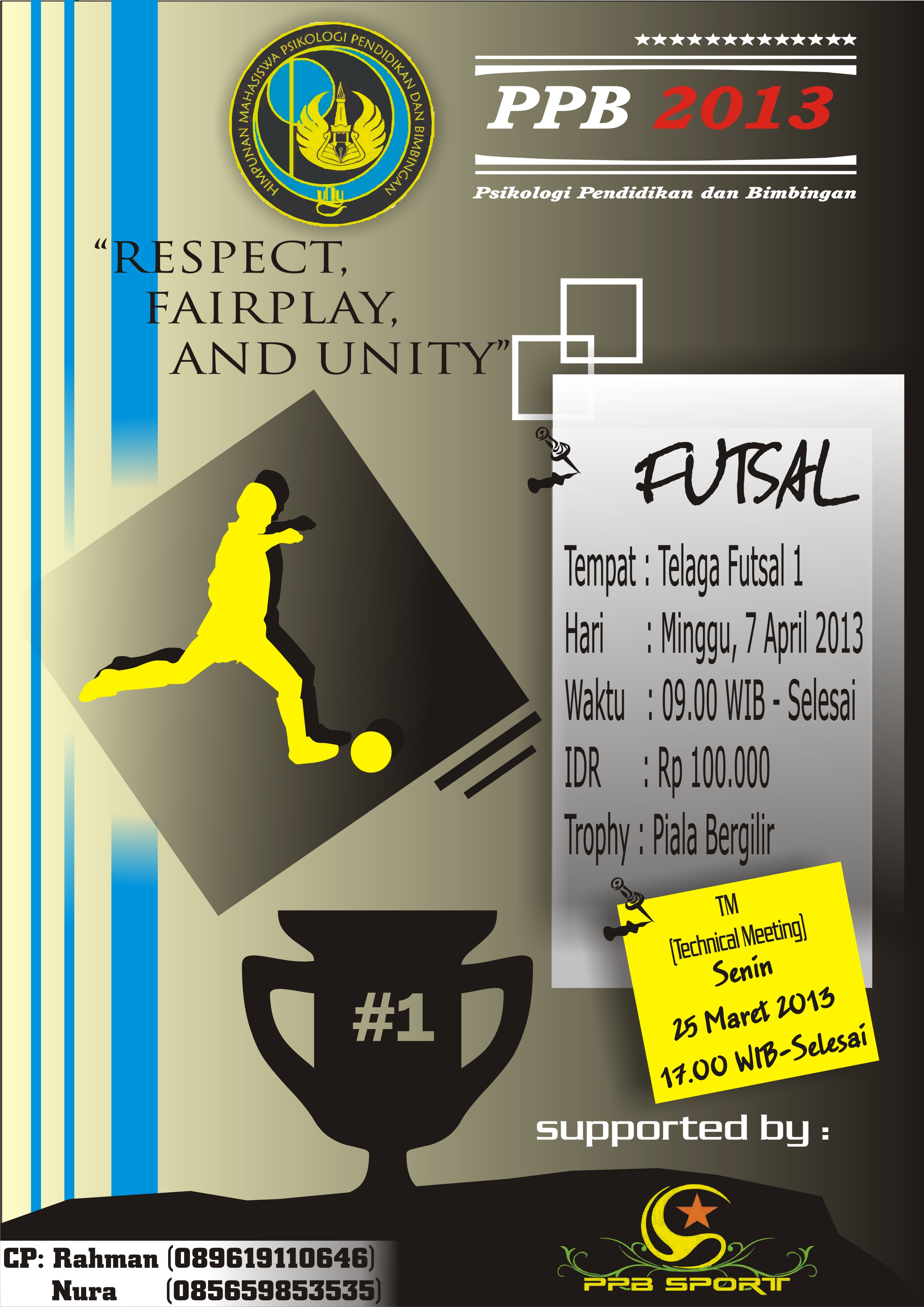 Futsal Hima Ppb Poses Lomba Event Proker Acara Piala Bk Himpunan